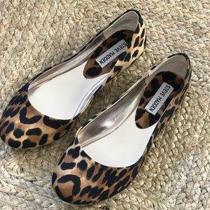 Leopard Print Flat Steve Madden
